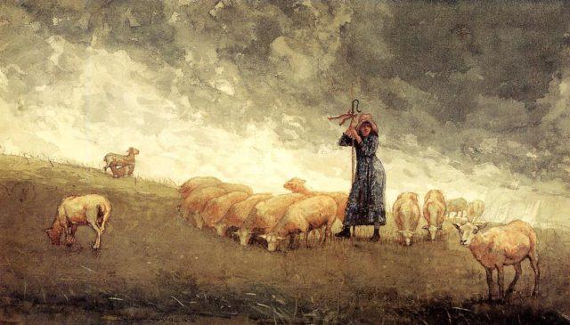 Pastoras y Ganaderas